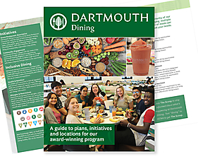 Dartmouth Dining Services Brochure