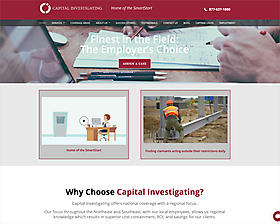 Capital Investigating Website